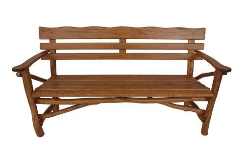pfeiffer kn ppelholz gartenbank mosel 3 sitzer eiche. Black Bedroom Furniture Sets. Home Design Ideas