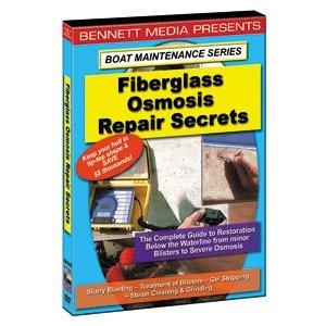 """Brand New Bennett Marine Video - Bennett Dvd Fiberglass Osmosis Repair Secrets """"Product Category: Entertainment/Videos - Instructional"""""""
