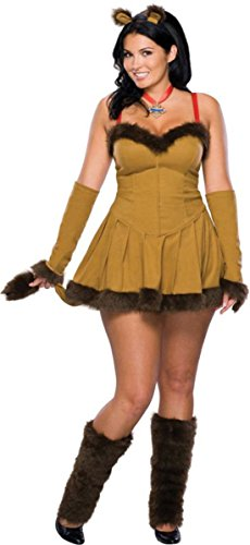 Morris Costumes Women's Cowardly Lion Costume, 14-16