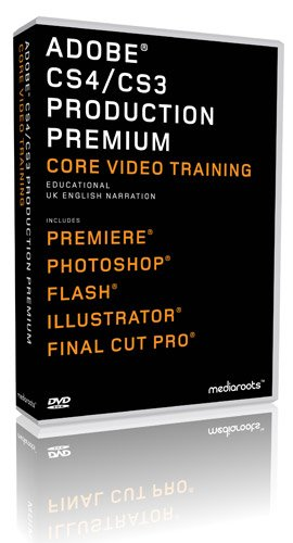 Adobe Production Premium CS4 & CS3 Training Bundle (Student / Teacher) (PC/MAC)