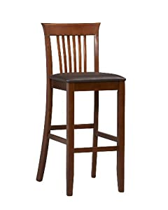 Linon Torino Collection Craftsman Bar Stool 30 by Linon
