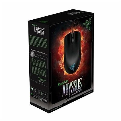 Brand New Razer Abyssus Essential Ambidextrous Gaming Mouse Rz01-00360100-R3U1 Brand New Sealed Fast Ship!