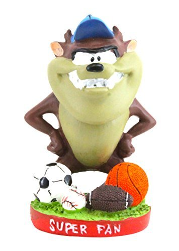 Looney Tunes Sports Fan Taz Bobble Head - 1