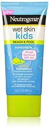 Neutrogena Wet Skin Kids Sunblock Lotion SPF 45 3 Ounce