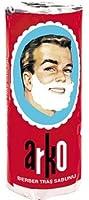 Stick de savon à barbe ARKO idéal pour les hommes aimant le rasage traditionnel! (1 stick)