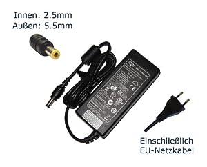 """Netzteil für Acer Travelmate 802 802LCI 803 803LCI 803LCI_BT Notebook Laptop Ladegerät Aufladegerät, Charger, AC Adapter, Stromversorgung kompatibles Ersatz (12 Monate Garantie, einschließlich kostenlosem EU-Netzkabel) - """"Laptop Power"""" gebrandmarkt"""