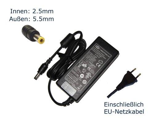 """Netzteil für Medion MD98240 MD98241 MD98300 MD98340 MD98360 Notebook Laptop Ladegerät Aufladegerät, Charger, AC Adapter, Stromversorgung kompatibles Ersatz (einschließlich kostenlosem EU-Netzkabel) - """"Laptop Power"""" gebrandmarkt"""