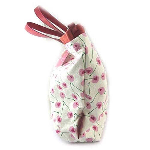 'french touch' bag 'Agatha Ruiz De La Prada'pink white – love cherries.