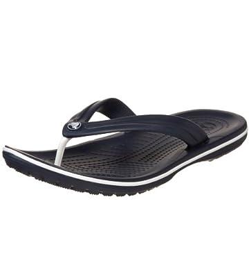 crocs Unisex Crocband Flip Flop,Navy,Men's 4 M/Women's 6 M