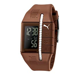 Puma Unisex Active Collection Cardiac Heart Rate Monitor Watch #PU900111005