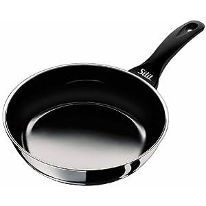 Deep Fry Pan, 8-Inch, Black