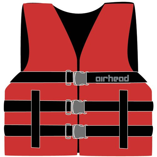 Airhead 10002-03-A-YW Yellow Nylon Youth Life Vest