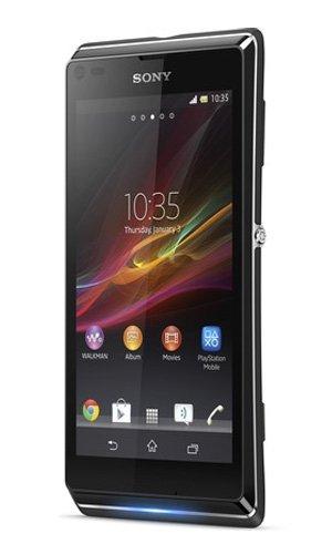 Sony XPERIA L C2105 (Black ブラック) SIMフリー 海外携帯