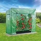 Tomatengewächshaus 190x77x169159cm
