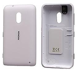 Nokia Lumia 620 Replacement Battery Door Panel white FREE SIM ADAPTER