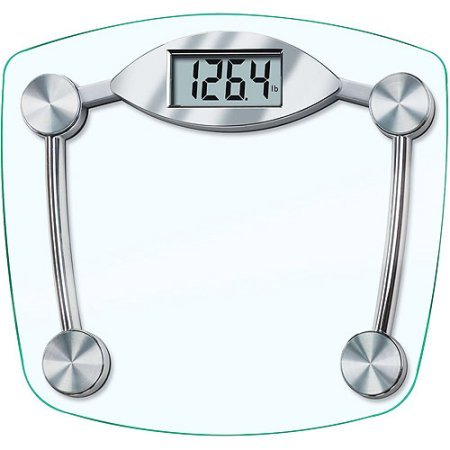Taylor Model 7506 Glass Electronic Bath Scale, Large Digital Readout. (Taylor Model 7506 compare prices)
