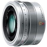パナソニック 【マイクロフォーサーズ】LEICA DG SUMMILUX 15mm/F1.7 ASPH.(シルバー)