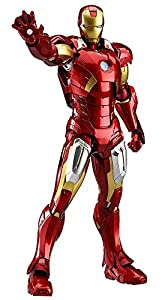 figma Avengers Iron Man Mark 7 ( non-scale ABS u0026 PVC painted action figure )