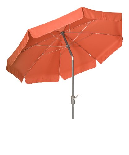 Acamp Parasol with Valance 2.7m - Anthracite/Terracotta Pole