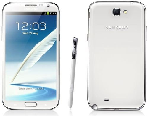 Samsung Galaxy Note Ii Note 2 N7100 White 5.5
