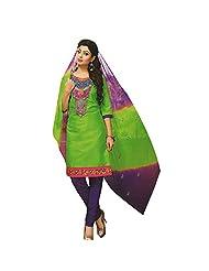 Siddhi Unstitched Cotton Printed Salwar Suit Dupatta Material ( SSHLPI-46AA )