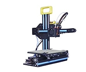 [ Arrival] HICTOP Portable Desktop 3D Printer Net weight Only 7.7lb DIY 3D Printer Kit High Accuracy CNC Self-assembly 130*150*100 mm Printing Size Works with PLA, Rubber, Wood [3DP-13] from HIC Technology