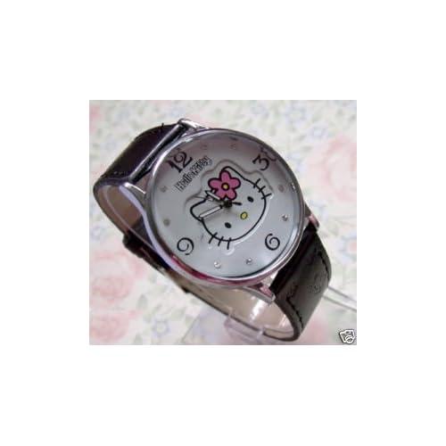 Hello Kitty Ladies Leather Quartz Watch