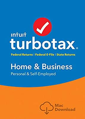 Intuit TurboTax Home & Business 2016 Tax Software Federal & State + Fed Efile PC/MAC Disc [Quicken Starter]