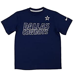 Dallas Cowboys Faster Tee - Navy - 2XLarge