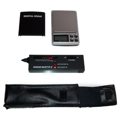HDE Diamond Test Kit Preciouos Metals And Gem Tester + Digital Pocket Scale