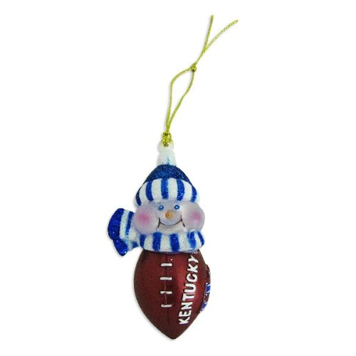 "Kentucky Wildcats 3"" All-Star Light-Up Snowman Ornament at Amazon.com"