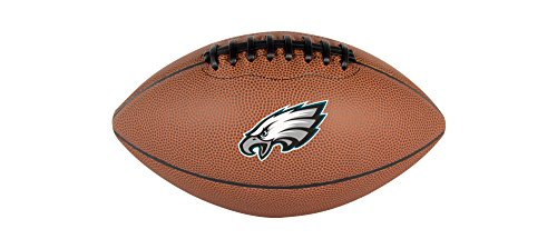 NFL Philadelphia Eagles Football, Pee Wee, Brown (Pee Wee Football Equipment compare prices)
