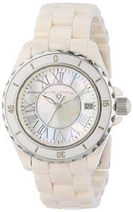 Swiss Legend Women's 20050-BGWSR Karamica Collection Beige High Tech Ceramic Watch