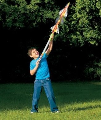 Cloud Busters Tube Jet Toy Jet Launcher Flies up to 50 Feet