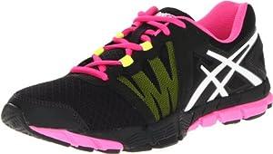 ASICS Women's GEL-Craze TR Cross-Training Shoe,Black/White/Hot Pink,9 M US