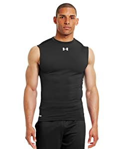 Under Armour Men's HeatGear® Sonic Compression Sleeveless Large Black