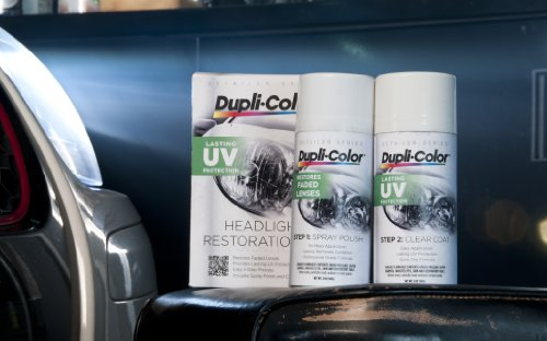 Dupli-Color HLR100 Headlight Restoration Kit