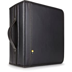 Case Logic DVB-200 200 CD/DVD and 92 Liner Note Capacity (Black)