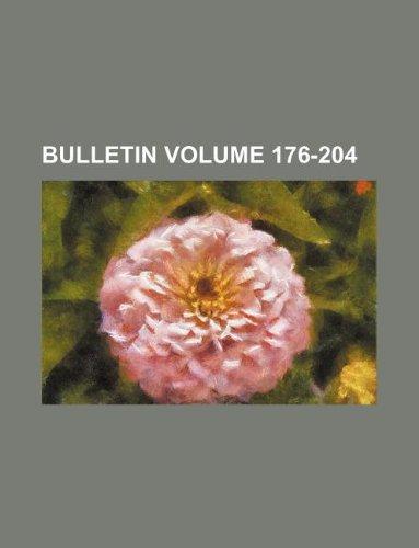 Bulletin Volume 176-204