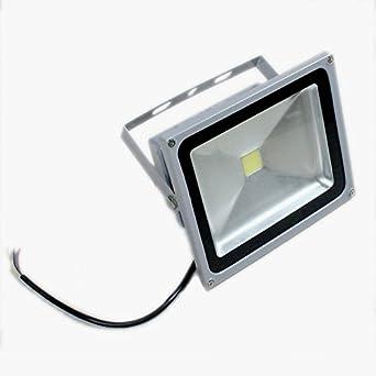 PMS® Extérieur & Intérieur 50W IP65 Imperméable SMD LED Projecteurs en Blanc Froid (6000-6500K)