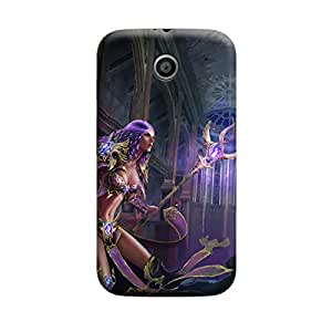 TransMute Premium Printed Back Case Cover With Full protection For Moto E (Designer Case)
