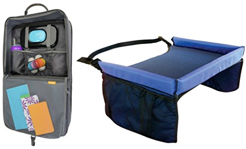 Brica Ihide Seat Back Organizer With Snack Tray front-815024