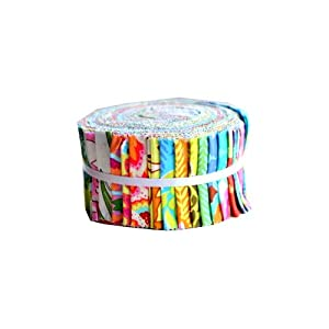 """Amy Butler SOUL BLOSSOMS Jelly Roll 2.5"""" Fabric Quilting Strips Westminster Fibers"""