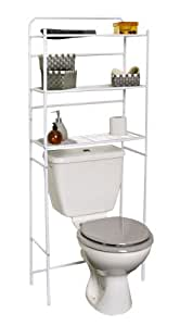 Amazon.com - Over the Toilet Space Saver Cabinet Metal 3