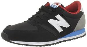 New Balance U420 282361-60, Unisex-Erwachsene Sneaker, Schwarz (KBR BLACK/BLUE/RED 81), EU 41.5 (US 8)