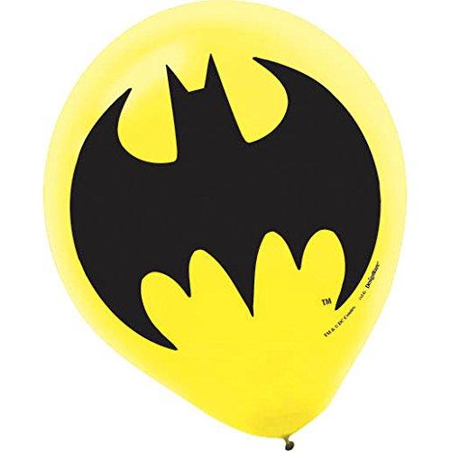 Amscan AMI 111386 Batman Latex Balloons, AMI 111386 1, Multicolored (Batman Supplies compare prices)