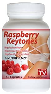 100% Pure Raspberry Ketones 500mg Servings 60 Capsules As Seen on TV! from Nutrifrenzy