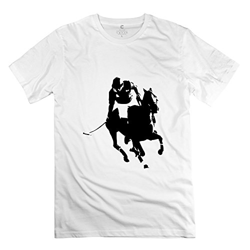 Yongth Men'S Polo 100% Cotton T-Shirt - Awesome Tee White Us Size L