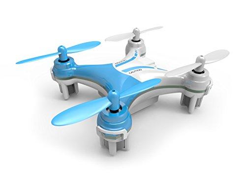 Silverlit, Mini quadricottero Nano Xcopter, 2,4 GHz, a 4 canali, radiocomandato, con giroscopio e luci LED, colori assortiti