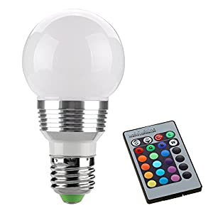 LED LIGHT Dimmable RGB BULB by SAVFY